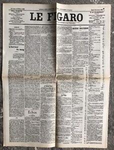 N122-La-Une-Du-Journal-Le-Figaro-20-Janvier-1903