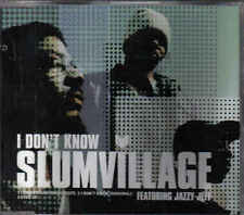 Slum Village feat Jazzy Jeff-I Dont Know cd maxi single