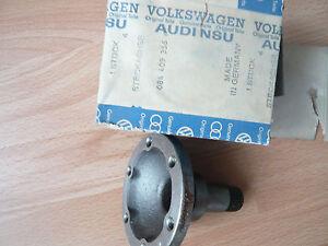 VW-Golf-1-Flanschwelle-rechts-am-Getriebe-original-NEU-084409356-Bj-74-80-GF
