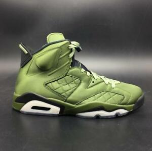 innovative design c683d 1eaa2 Image is loading Nike-Air-Jordan-6-Pinnacle-Palm-Green-Retro-