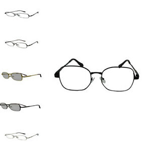 Fashion avator Rond Cadre en Métal Clair Lentille Rétro Vintage Geek Lunettes Mode