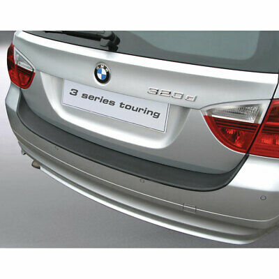 Rear bumper protector compatible with BMW Serie 3 E91 Touring 2008-2012