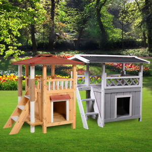 Image Is Loading Wooden Dog Pet House Cat Room Puppy Large