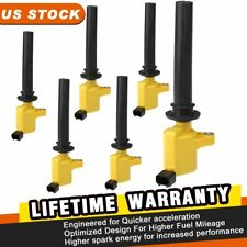 DEAL Set of 1 New Ignition Coil For Ford Escape Five Hundred Freestyle Taurus Mazda Tribute Mercury Mariner Montego Sable 3.0L V6 Compatible With DG486 DG500 DG513 FD495