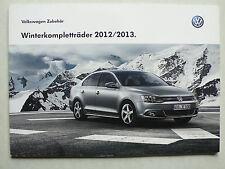 Prospekt VW Zubehör - Winterkompletträder 2012/2013, 9.2012, 56 Seiten