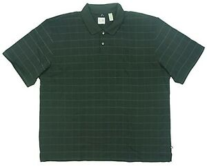 Geoffrey-Beene-Mens-Size-Medium-Polo-Shirt-Black