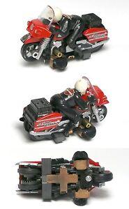 1993 TYCO HO SLOT CAR HARLEY DAVIDSON MOTORCYCLE UNUSED RARER Red SET ONLY 6216