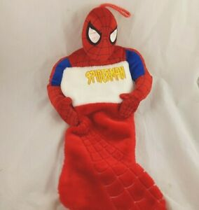 Plush-Spiderman-Christmas-Stocking-Marvel