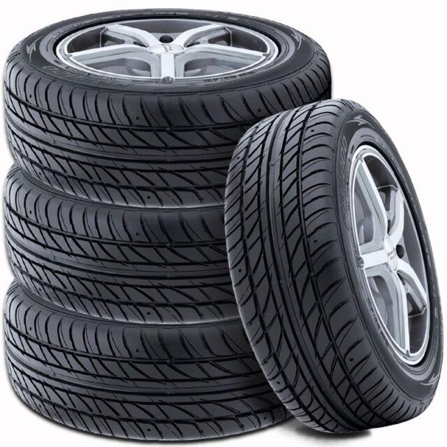 4 Falken @ Ohtsu FP7000 195/60R15 88H All Season Traction High Performance Tires