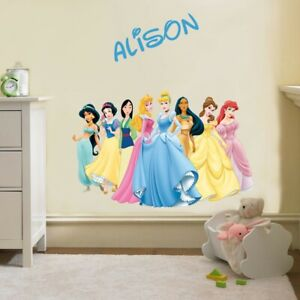 Personalized Princess wall decal removable sticker