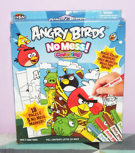 Details about New Cra-Z-Art Angry Birds No Mess Coloring Kit