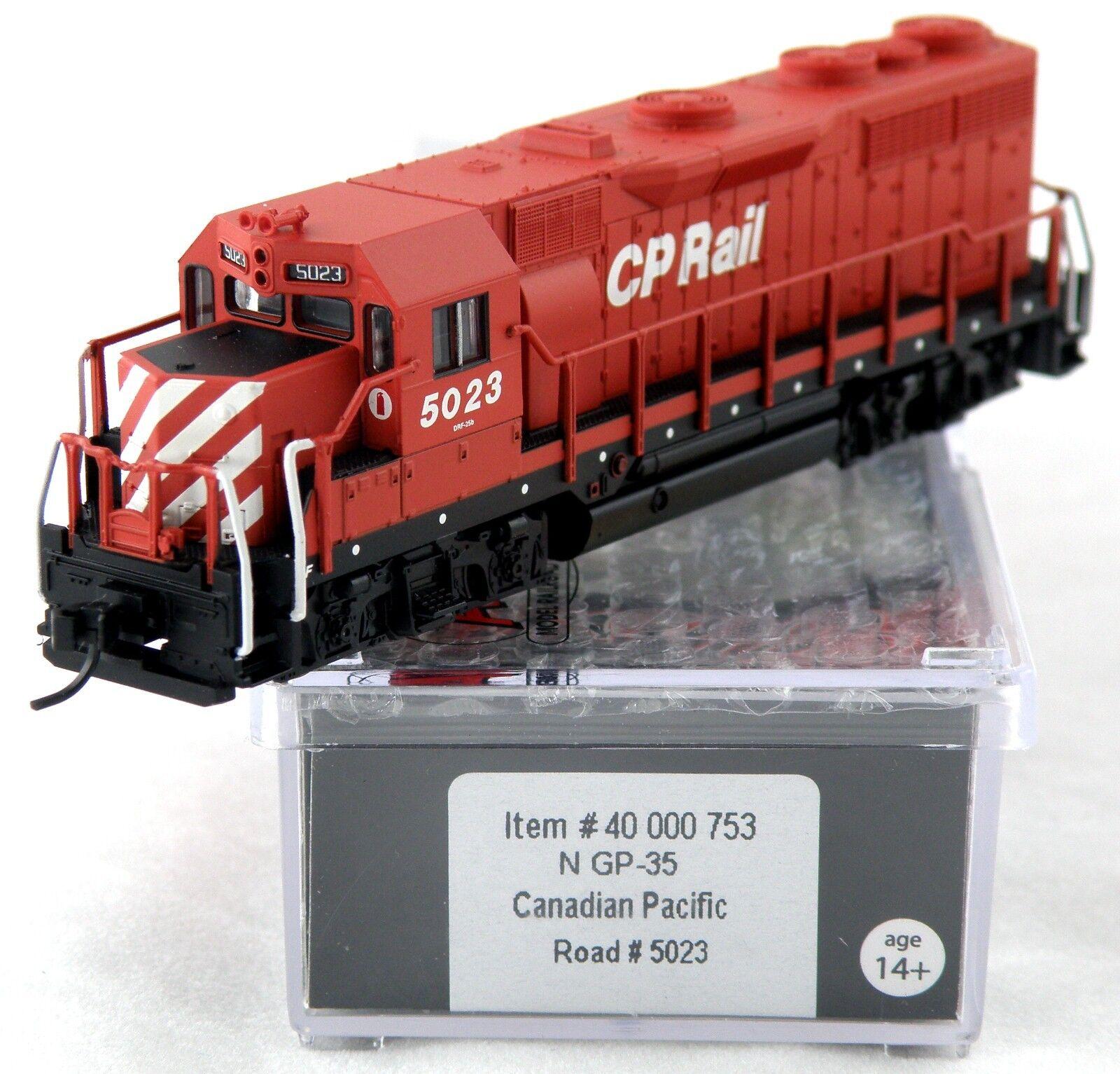 Escala N GP-35 Locomotora Con Dcc-Canadian Pacific 5023 - Atlas 40000753