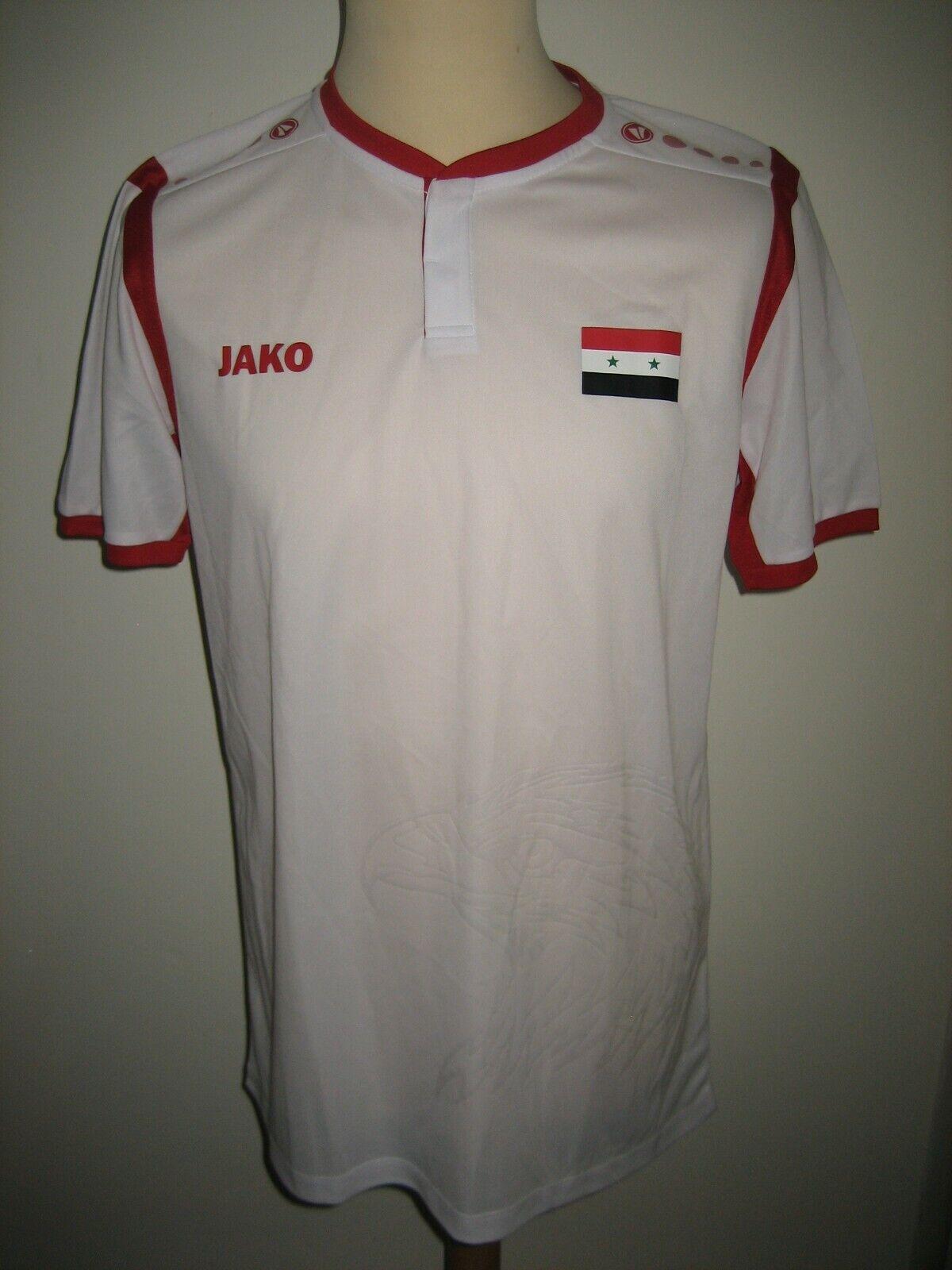 Syria rare away football shirt soccer jersey trikot Syrian maillot NEW Dimensione L