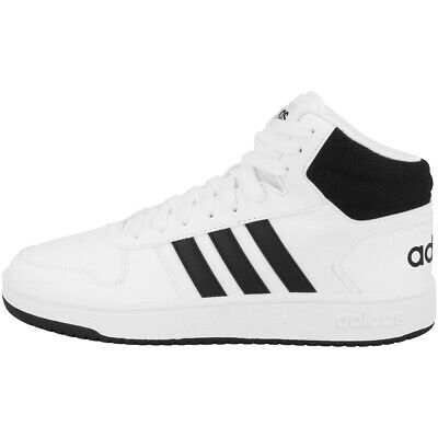 Adidas Cerceaux 2.0 MID Chaussures Hommes Baskets Loisirs Blanc Noir BB7208 | eBay