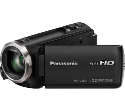 1 of 1 - PANASONIC HC-V180EB-K Traditional Camcorder 68.6 mm LCD touchscreen Black