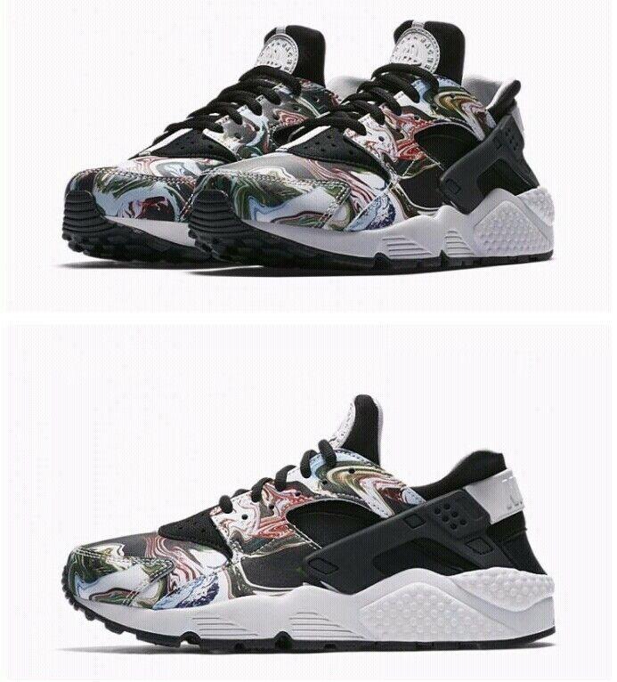 Women's Nike Huatache Run PRM 683818 017 Size Size Size US 7.5 Multi color 78a3d5
