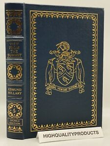 SIGNED-Easton-Press-VIEW-FROM-THE-SUMMIT-Hillary-Mount-Everest-LIMITED-Edition