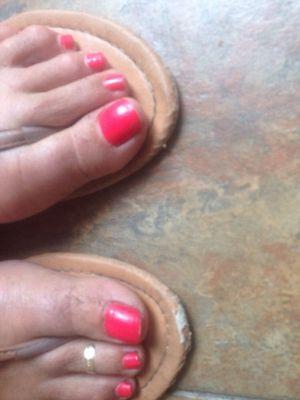 Sandalias para Mujer Damas Desgastado Verano Ojotas Reino Unido 8 Naranja Toe Slip On