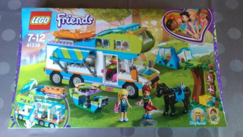 Lego Friends - 41339 Le Camping Car De Mia Boite Neuve Et Scellée