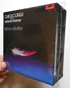 CHICK-COREA-RETURN-TO-FOREVER-LIGHT-AS-A-FEATHER-EMPTY-BOX-JAPAN-MINI-LP-CD-G01
