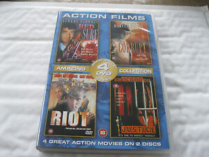 RED-SURF-CORRUPT-RIOT-JUSTICE-4-Films-on-2-Discs-DVD