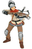 Papo Red Crossbowman Soldier Fantasy Toy Figure Pretend Play Castle 39752