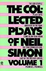The Collected Plays of Neil Simon: Vol 1 by Neil Simon (Paperback, 1986)