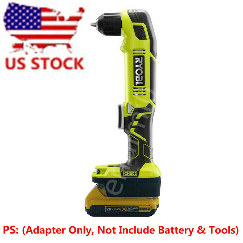 Ryobi 18V Tools Adapter Work with DEWALT 20V Slider Li-ion B