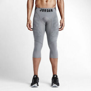 Details about Jordan S Small Ultimate Flight Compression Track Field Pants 34 Tights Dri Fit
