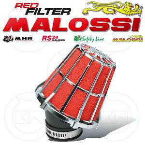 MALOSSI 047593K0 FILTRO ARIA RED FILTER E5 Ø38 X CARBURATORI DELL'ORTO PHBN 17,5