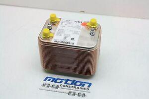 New GEA WTT Type: WP 3-TIO-20/20 100091697 Brazed Plate Heat Exchanger