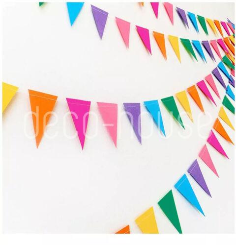 Hanging Gold Silver Stars Circles Hearts Party Banner Birthday Wedding Garland