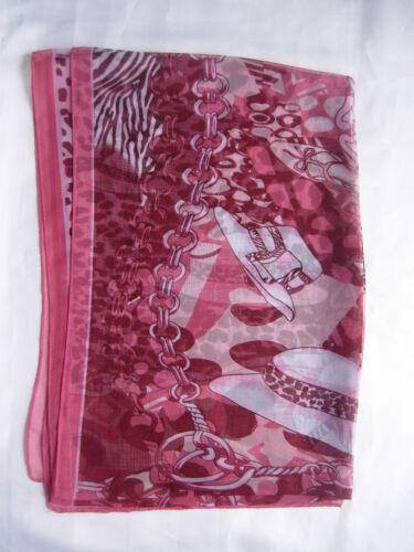 New Hat Shoe Design  Scarf Wrap Colour Pink