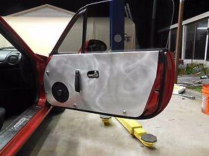01 05 Lrb Speed Mazda Mx 5 Miata Aluminum Door Panel Card