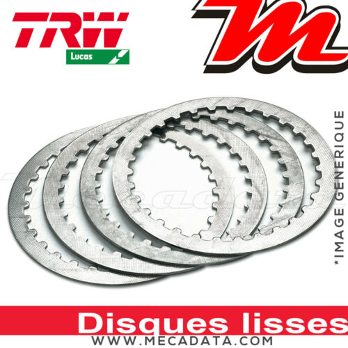 Disques d/'embrayage lisses ~ Yamaha DT 80 LC2 53V 1996 ~ TRW Lucas MES 317-4