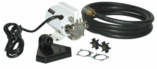 Red Lion MPFVK115 1380 GPH Utility Transfer Pump with Hoses