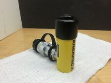 0.63 Stroke Single Port Enerpac RC-50 Single-Acting Alloy Steel Hydraulic Cylinder with 5 Ton Capacity