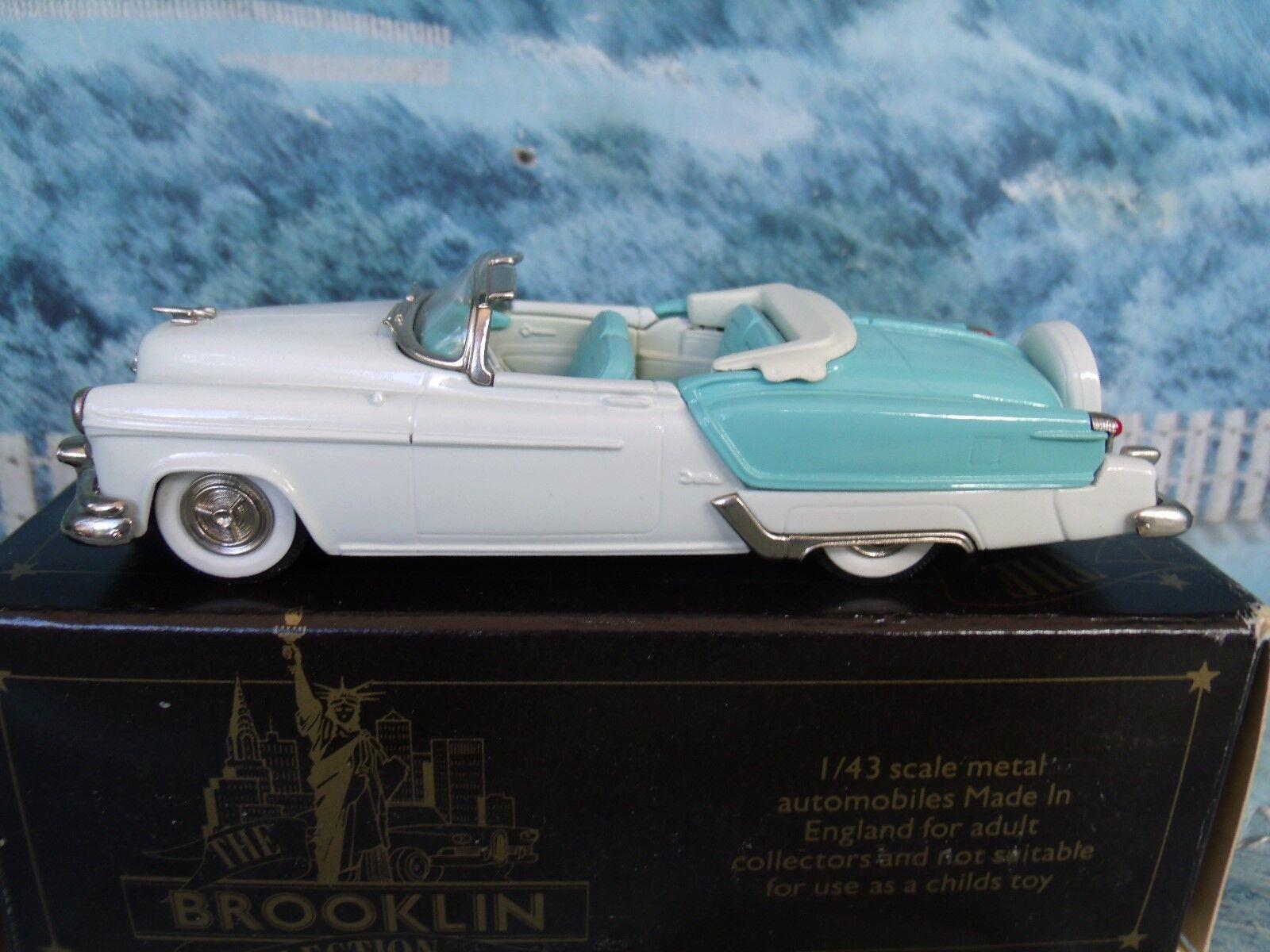 1 43 Brooklin models  1953 Oldsmobile Fiesta 1996 BRK.39  blancoo metal