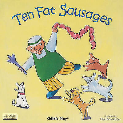1 of 1 - Ten Fat Sausages (Classic Books With Holes)-ExLibrary