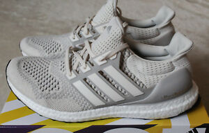 Details about New Adidas Ultra Boost 1.0 Cream Talc White Chalk 2018 Release UK 7.5 US 8