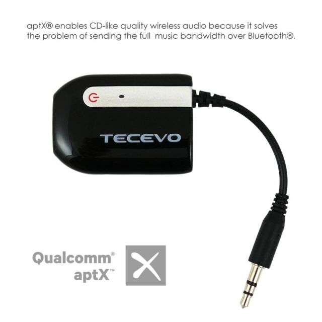 Bluetooth Audio Receiver Wireless 3.5mm AUX For Car Speaker Bose iPhone Dock Etc