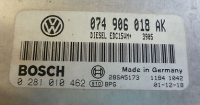 Remapped ECU and immo off for VW T4 2.5 TDI 074906018AK