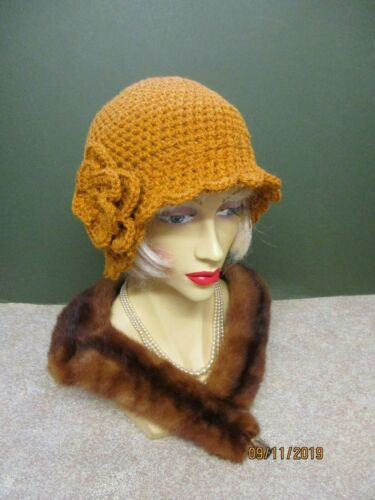 BEANIE  HAT AVAILABLE IN VARIOUS COLOUR/'S 1920/'S STYLE CLOCHE PEAKY BLINDERS