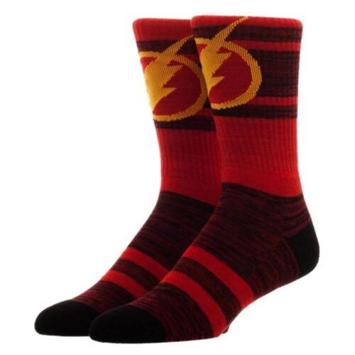 Officiel DC Comics Super héros The Flash Habillez adulte Crew Sock-UK 7.5-11.5