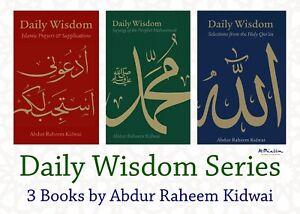 Daily-Wisdom-Series-Full-Set-Muslim-Islamic-Books-Inspiration-Kidwai