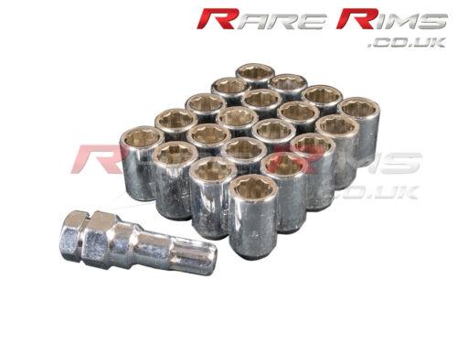 Chrome Tuner Wheel Nuts x 20 12x1.5 Fits Mazda Mx3 Mx5 Mx6 Rx7 RX8 3 6 5 MPS