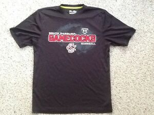 separation shoes d803a 33b19 Details about SOUTH CAROLINA GAMECOCKS BASEBALL SHIRT JERSEY UNDER ARMOUR  S/M LOOSE