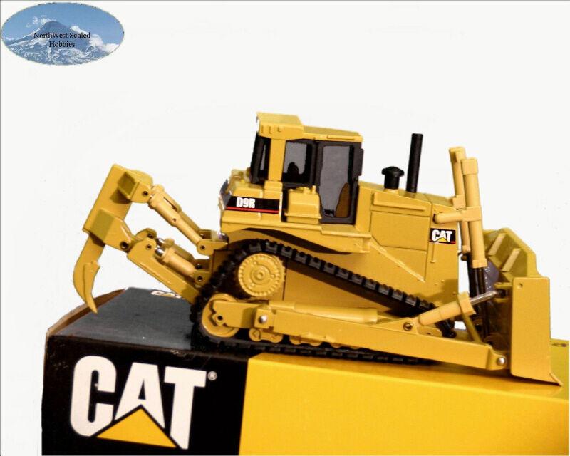Nzg Caterpillar D9r Excavadora W Ripper jubilado Pantalla Modelo Light Vidrio 150 451