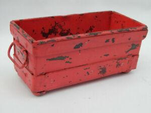 Pot-Rose-Vide-Poches-Deco-Industriel-Ancien-Moule-Metal-Inde-21x10x9cm-780g