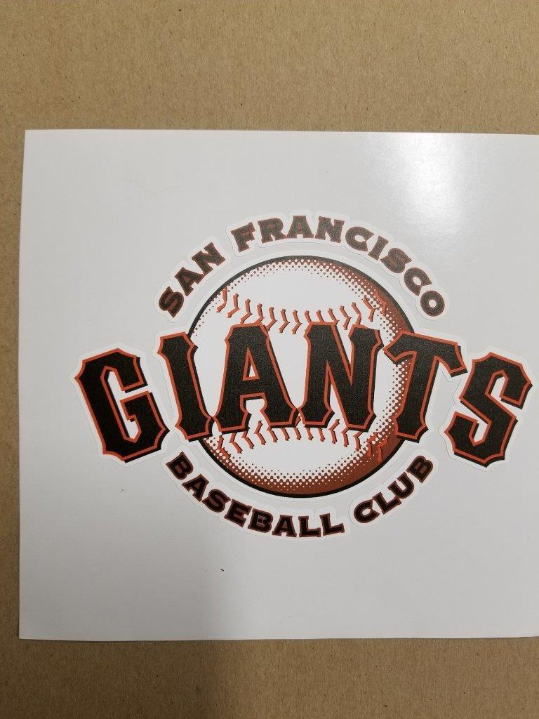 San Francisco Giants cornhole board  or vehicle decal(s)SFG4  excellent prices